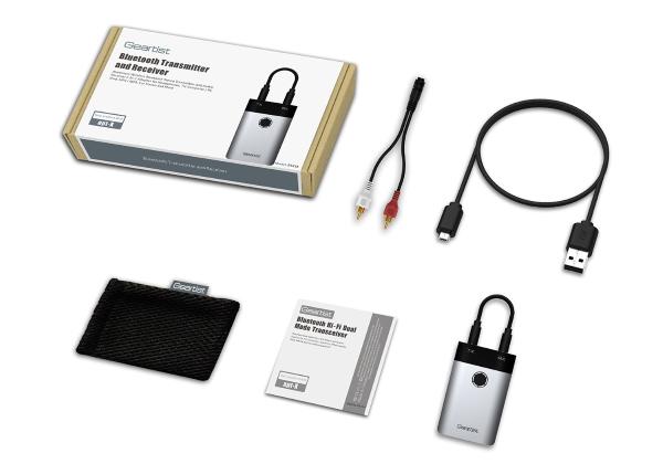 geartist rt 418 bluetooth audio sender empf nger. Black Bedroom Furniture Sets. Home Design Ideas